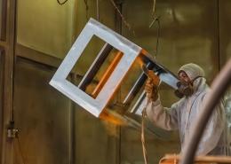 industrial powder coating